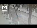 Видео с камер наружного наблюдения, нападения на Храм в Кизляре, 18.02.18