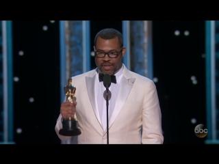 Watch Jordan Peeles Oscar 2018 Acceptance Speech for Best O