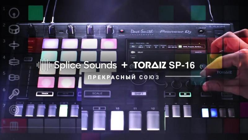 Pioneer DJ Splice: Создание сцен для семплера TORAIZ SP-16 на лету :: [clubstore.com.ua]