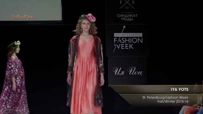 Показ IYA YOTS на St Petersburg Fashion Week FW 2015-16