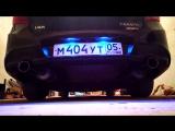 NeX® Lada Granta Sport. ЭКСКЛЮЗИВ!  Глушитель раздвоенный с насадками 76 мм. V6 или V8 ?