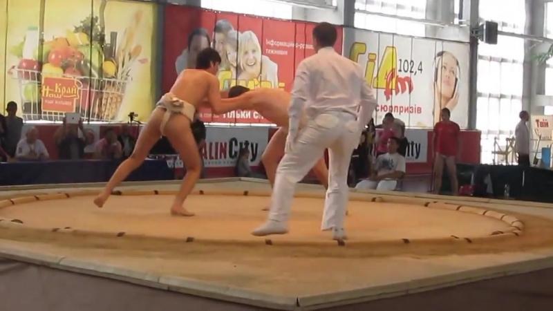 Сумо! Чемпионат Европы!Sumo
