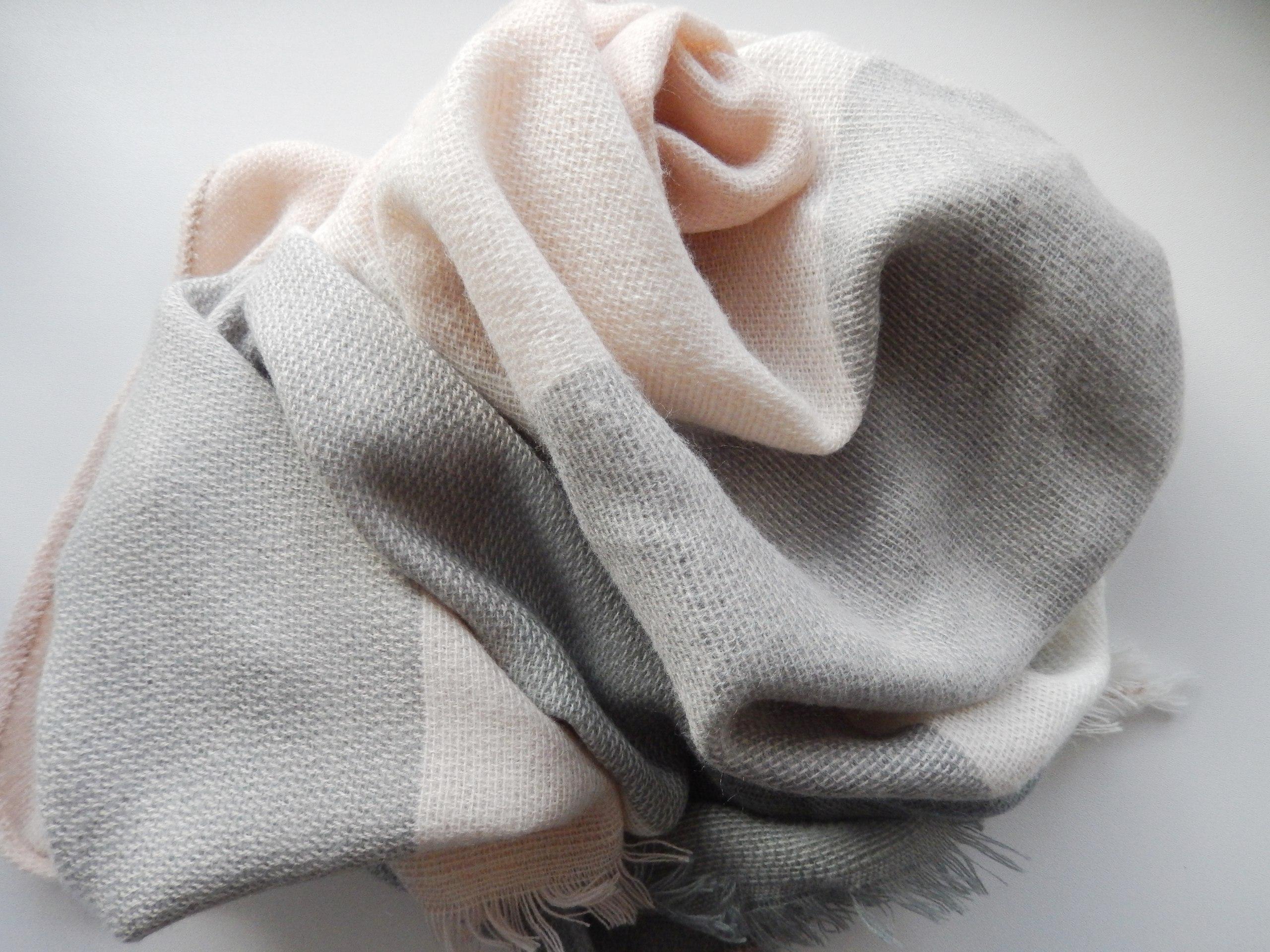 Мегауютный шарф для пасмурной осени и холодной зимы