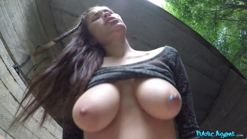 Miyuki Son (Outdoor sex under a railway bridge) asian girl porno