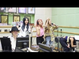 30.06.17 MAMAMOO - Im Free (Jiny cover) @ Радио-шоу «Kiss The Radio»