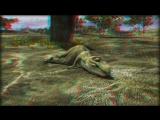 3D мульт о динозаврике, качество супер HD720 (анаглиф)