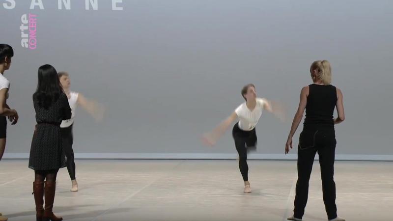30.01.2018 Prix de Lausanne. Contemporary dance coaching.