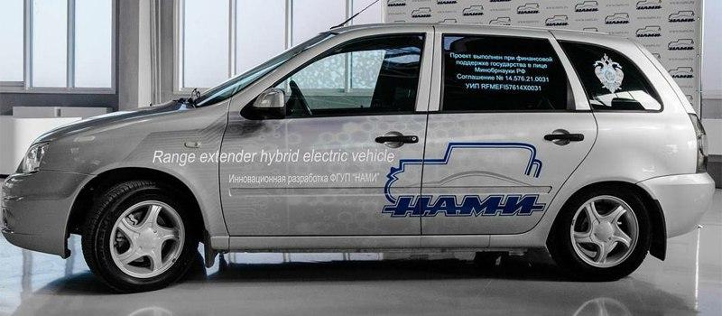 Электрическую «Калину» доработали «по рецепту BMW»