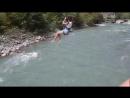 Полет на тарзанке Абхазия