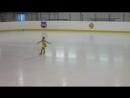 Дарина, 1 место, Начинающий Счастливый лед,17
