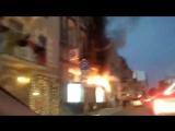 26/08/2017 Пожар в ЮниКредит Банке