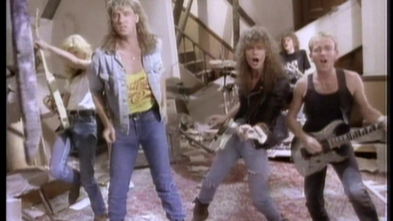 Def Leppard - Pour Some Sugar On Me (1987)