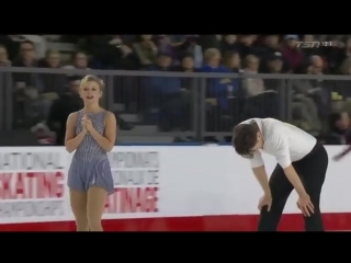 Kirsten MOORE TOWERS _ Michael MARINARO Free Skate Canadian Nationals 2018