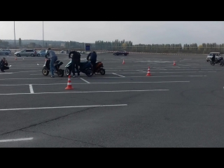 Закрытие скутер - сезона 2017. 2