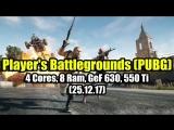 Алекс rempc by Player's Battlegrounds (PUBG) на слабом ПК (4 Cores, 8 Ram, GeF 630, 550 Ti)