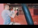 Парная работа на мешке Урок 2 тренировки по тайскому боксу с Андреем Басыниным