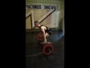 Становая тяга 130 кг на 3