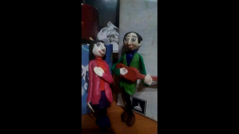 МУЛЬТТАЛАНТЫ: Татьяна и Сергей НИКИТИНЫ - Надежды маленький оркестрик (Б. Окуджава)