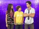 Message to Disney Channel Japan from main casts of Wizards Of Waverly Place