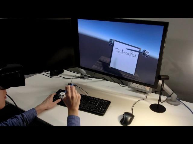 DodecaPen — стилус для дополненной и виртуальной реальности из ручки и додекаэдра