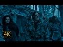 Станнис Баратеон со своей армией разбивает лагерь одичалых возле стены Манс пл