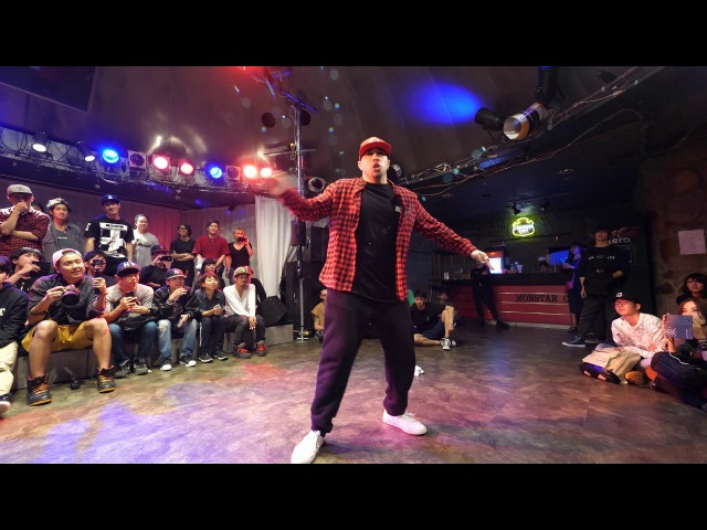 JSMOOTH vs NARI タットチャンピオン対決 Top of TUT EXHIBITION BATTLE ARMS vol.2 all respectable minority styles