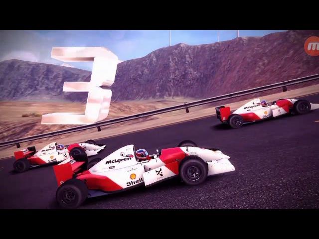 Asphalt 8, Драконове Дерево. (McLaren MP4/8.
