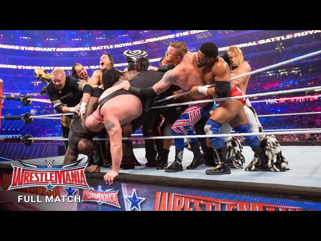 FULL MATCH - Andre the Giant Memorial Battle Royal: WrestleMania 32 (WWE Network Exclusive)