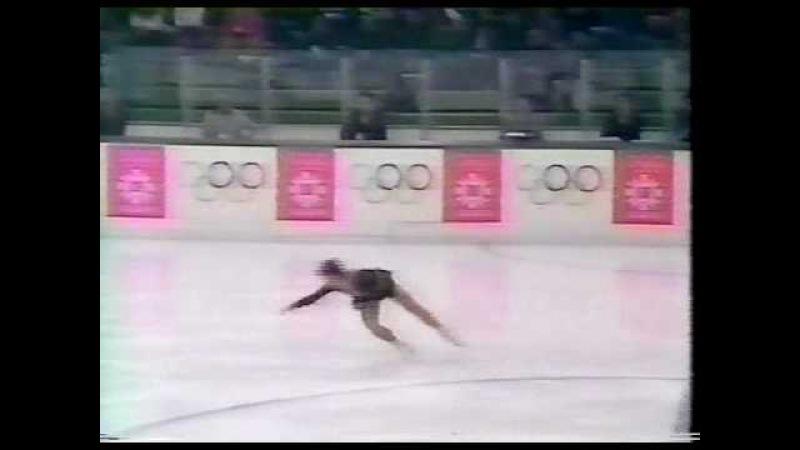 Kira Ivanova (URS) - 1984 Sarajevo, Figure Skating, Ladies' Short Program