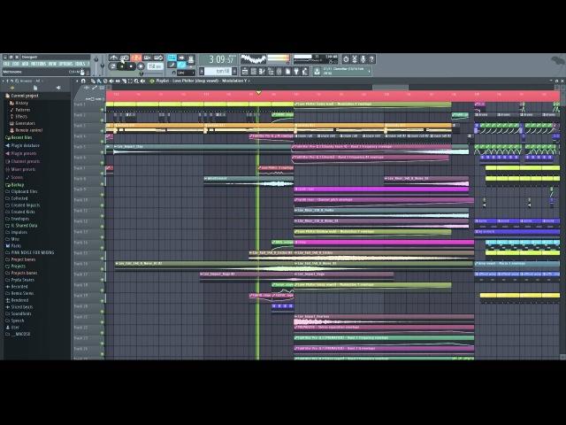 Teramite Divergent Dubstep FL Studio 12 Playthrough