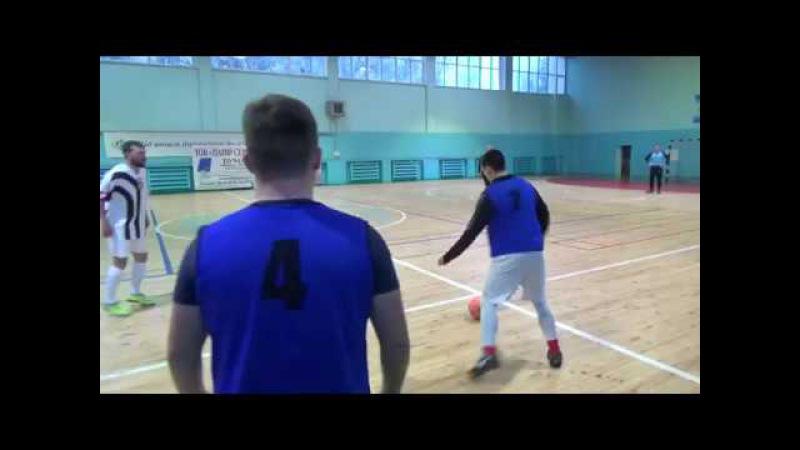 11 й тур Высшей Лиги г Запорожье по мини футболу Таврия Нн ХНА 5 2
