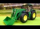 Tractors for kids Dobry Traktorek i Pracowity Samochódow Bajka i zabawki dla dzieci