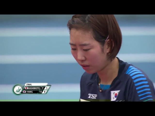2018 Polish Open Highlights I Yang Haeun vs Honoka Hashimoto (Final)