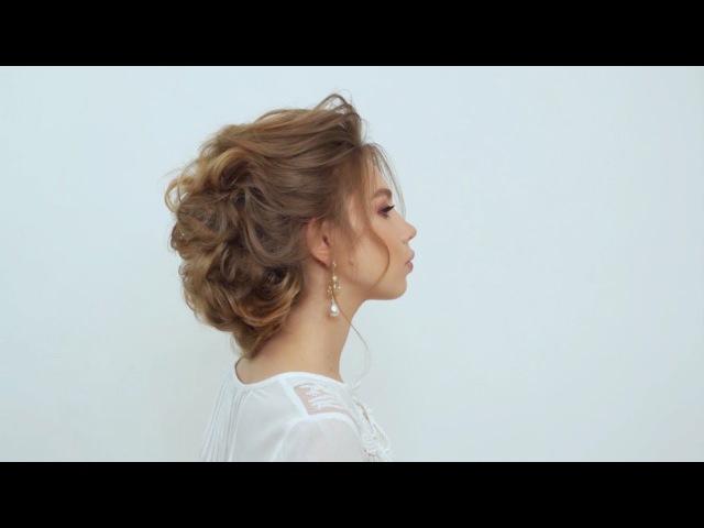 Причёска от школы Руслана Татьянина. Экспресс причёска без шпилек