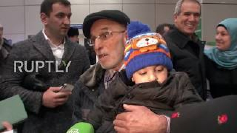 Russia: Dagestan boy found in Baghdad reunited with family