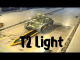 T2 Light (прем танк 2 уровня). World of Tanks Blitz. Летсплей