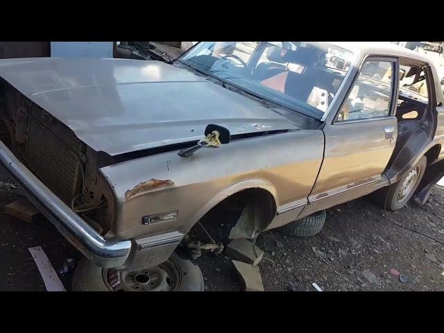Заброшенные авто в лесу, 70-х годов, запуск мотора или на металл, Toyota Corona-Mark2