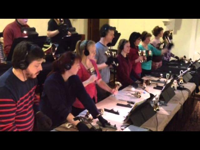 The Agape Ringers Recording Firework