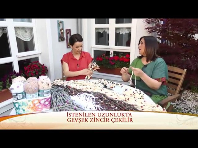 Alize Superlana Maxi Flower ile Dekoratif Perde Yapımı-Making Decorative Curtain