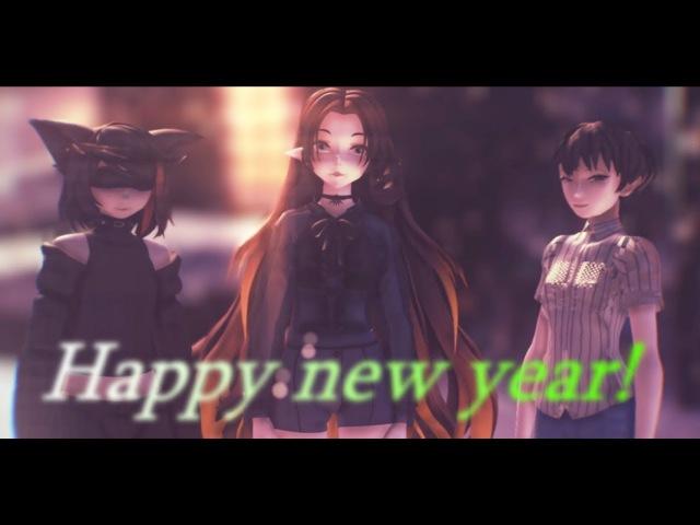 [MMD] [Gift] The Unifiers - Dubstep Jingle Bells REMIX [Flash warning]