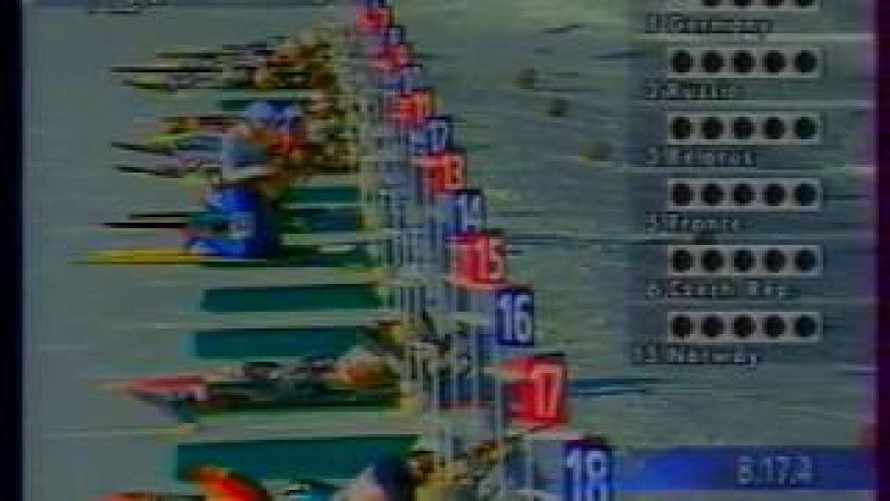 Биатлон-1994. Олимпийские Игры в Лиллехаммере. Женская эстафета.