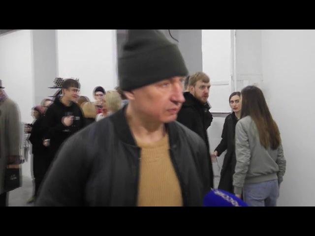 Выставка Владимира Омутова Speedcore