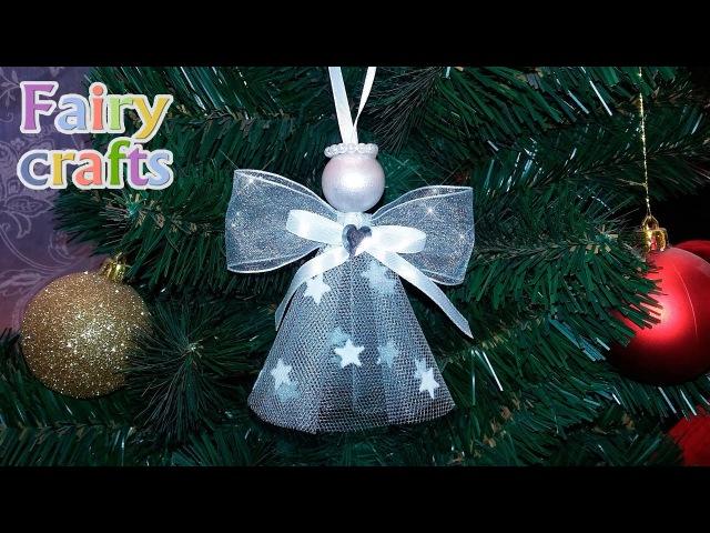Рождественский ангел своими руками ❅ Мастер-класс | DIY ❅ Christmas angel ❅ Room Decor