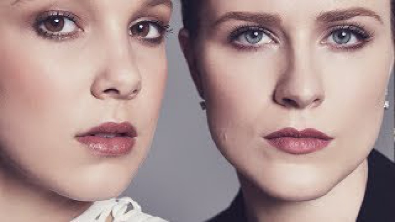 Millie Bobby Brown Evan Rachel Wood - Actors on Actors (Full Video)