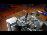 Part 6. DIY Internal Combustion Engine Made from Old Compressor - Carburetor from Pencil &amp Heatsink