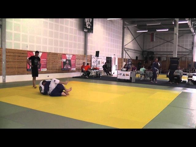 R.I.O. BJJ 2013. Федотов Александр. (К. Сестаро тим) vs Сиротин Виктор (Лион)