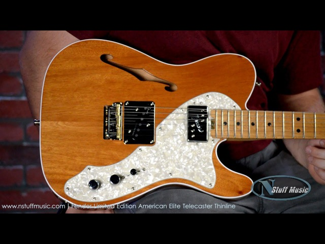 Fender Limited Edition American Elite Telecaster Thinline