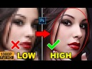 How to Convert Depixelate images convert into High Quality Photo in Photoshop