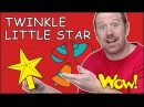 Twinkle Twinkle Little Star from Steve and Maggie | Stories for Kids | Wow English TV