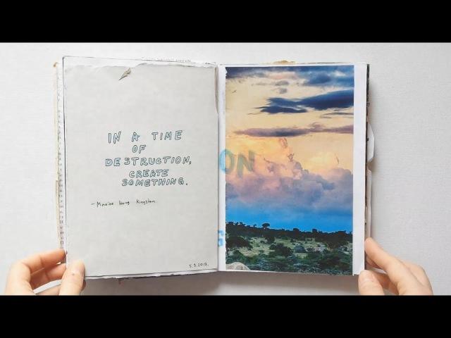 Art journal flip through